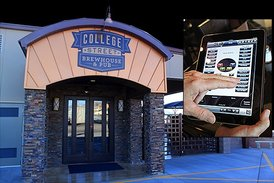 College Street Brewhouse one touch control project